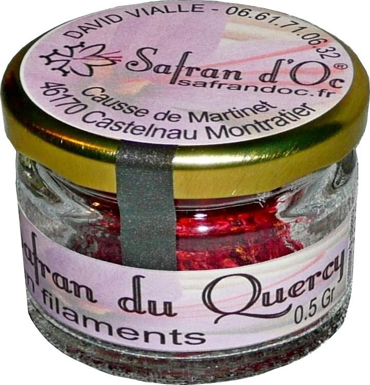 Safran du Quercy en pistils 0,5 Gr