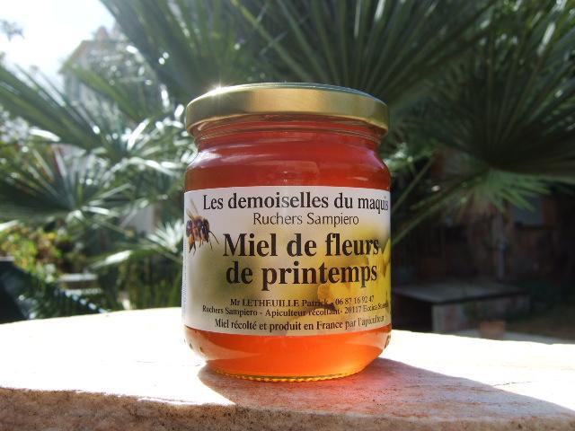 Miel de fleurs de printemps 250 g