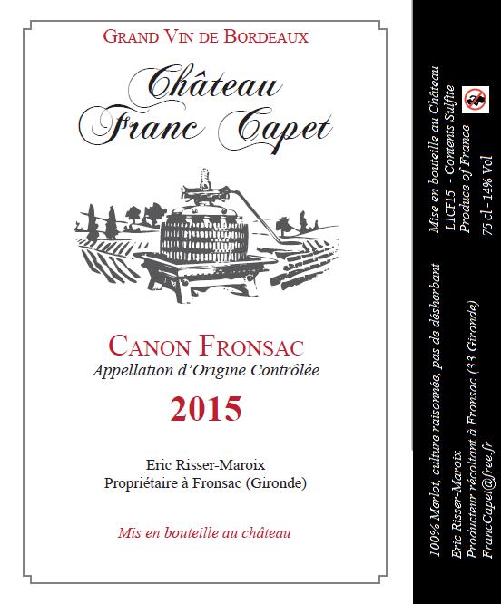 L1CF15 Canon Fronsac 2015