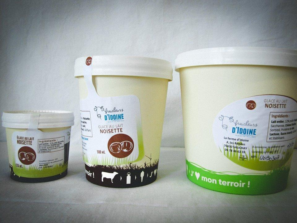Glace gamme Terroirs et Création