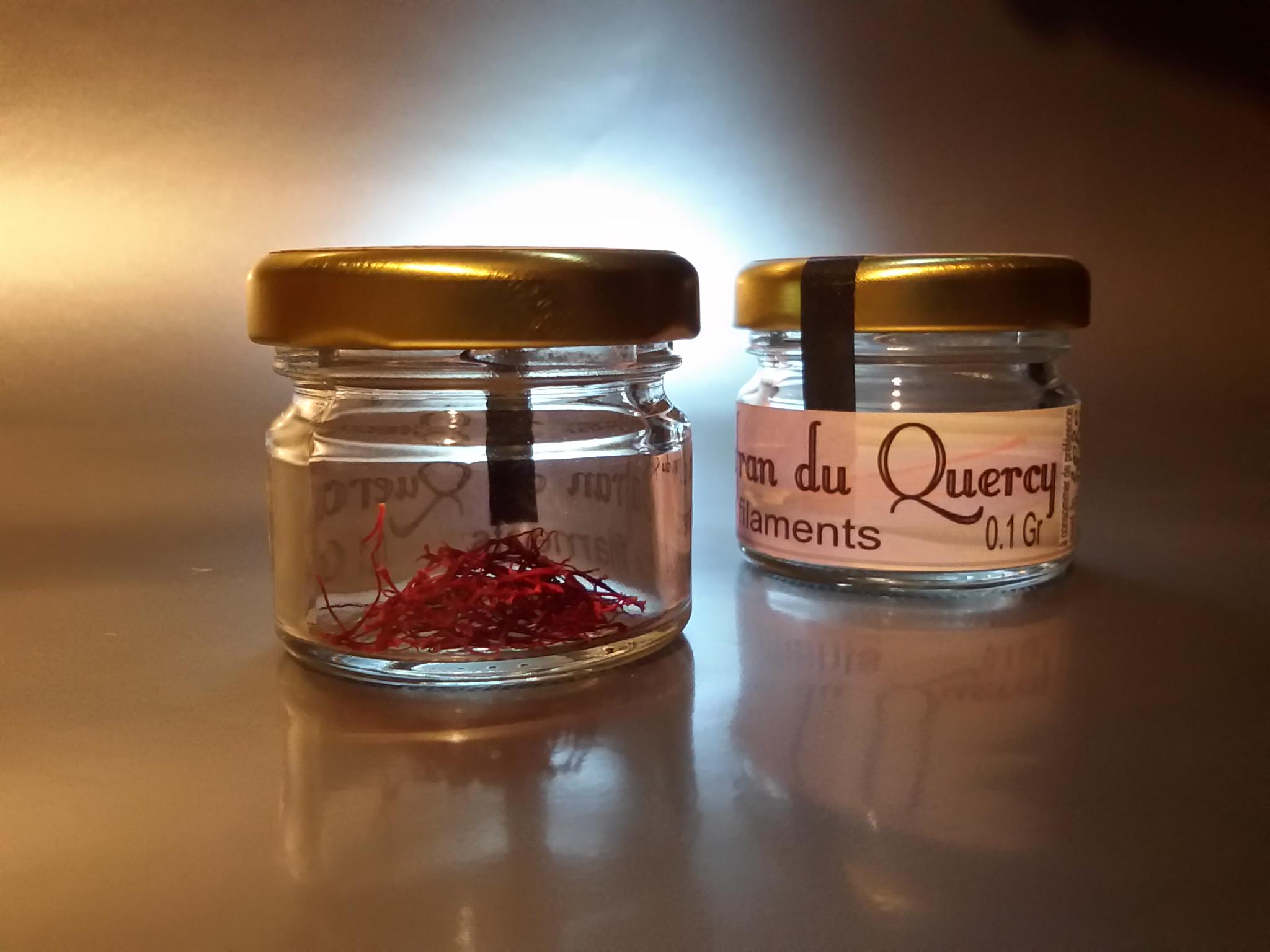 Safran en pistils - 0,1gr - Safran du Quercy