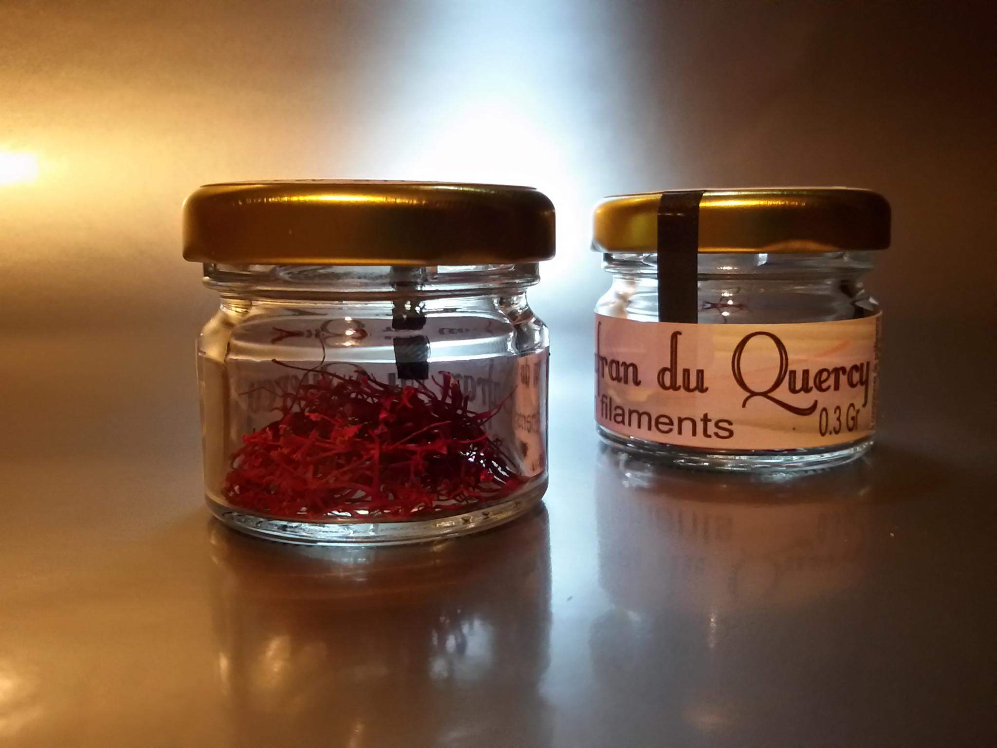 Safran en pistils - 0,3gr - Safran du Quercy