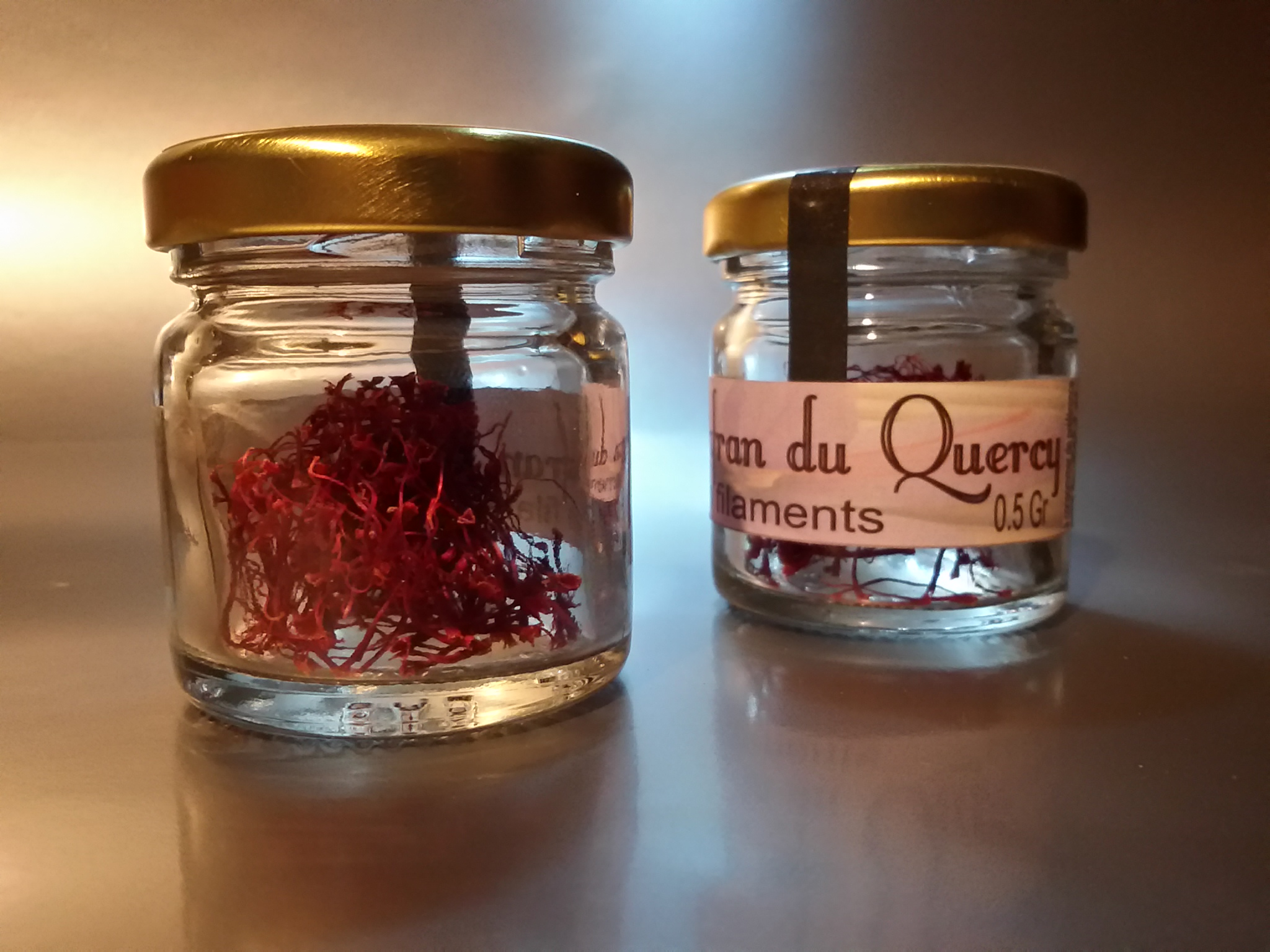 Safran en pistils - 0,5gr - Safran du Quercy