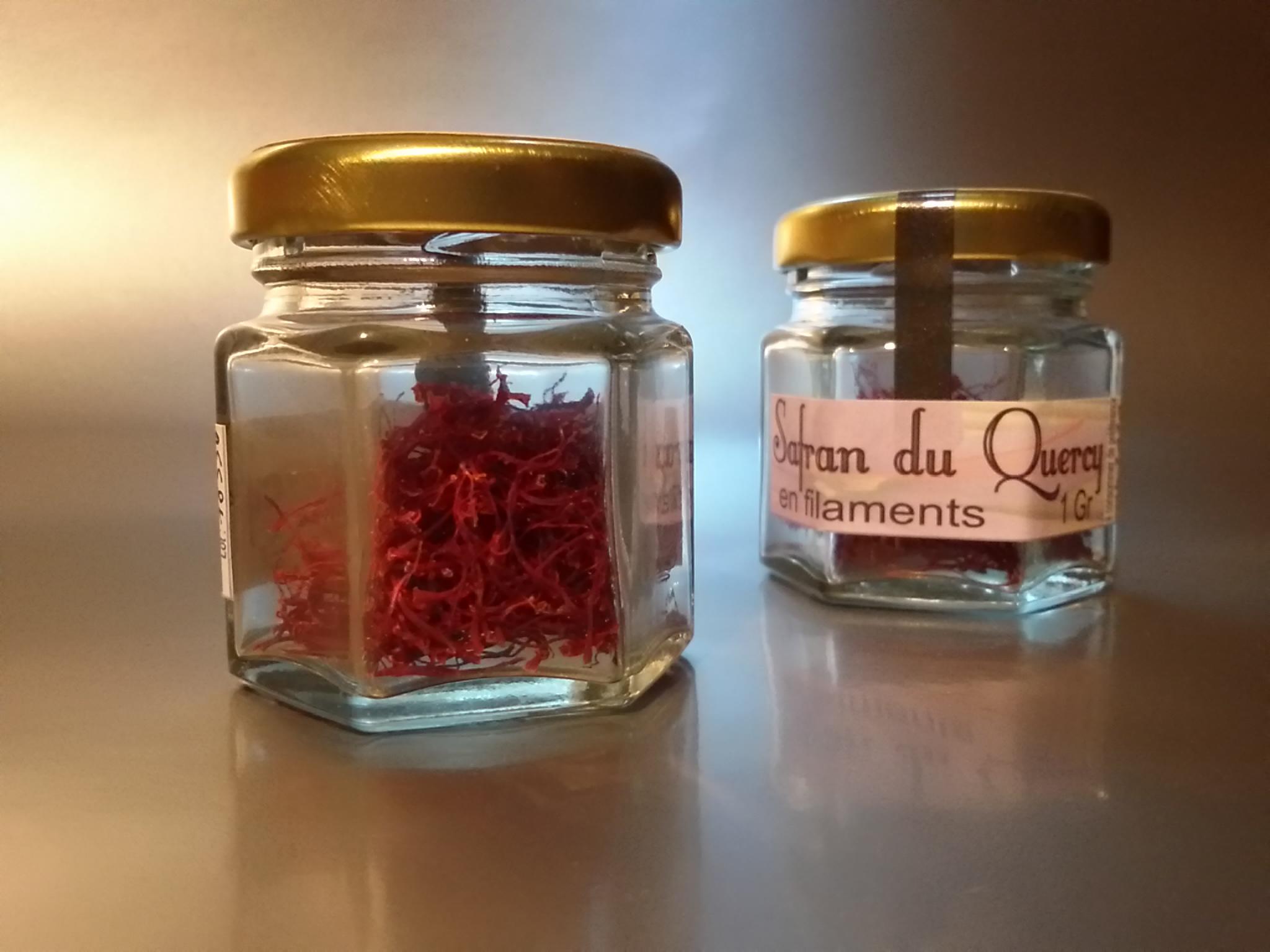 Safran en pistils - 1gr - Safran du quercy