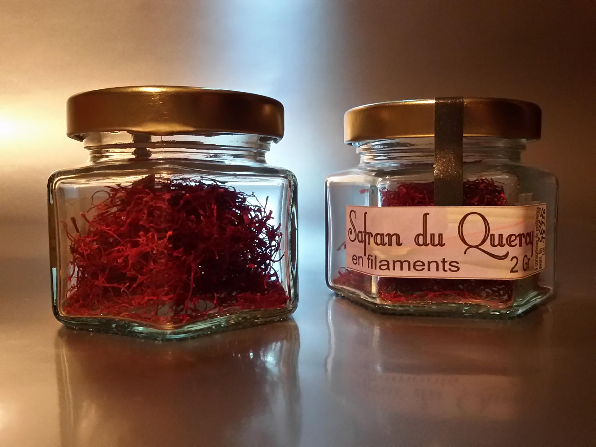 Safran en pistils - 2gr - Safran du Quercy