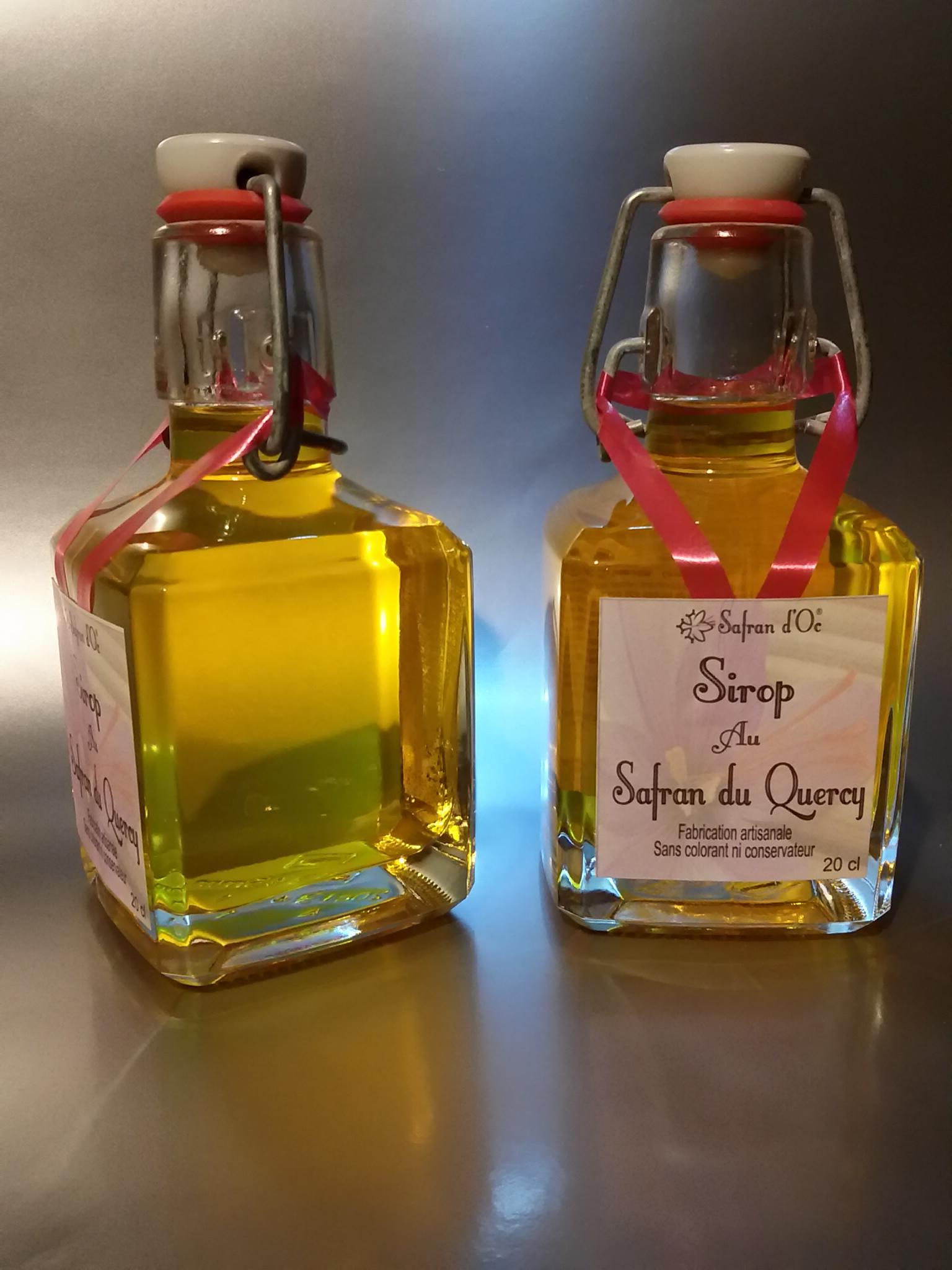 Sirop de safran - 20cl - Safran d'Oc