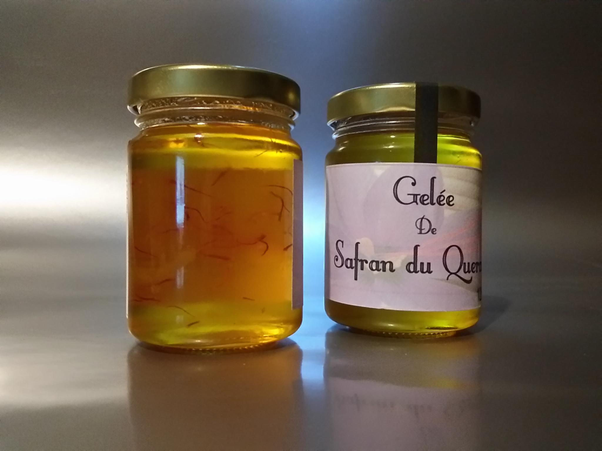 Gelée de safran - 120gr - Safran d'Oc