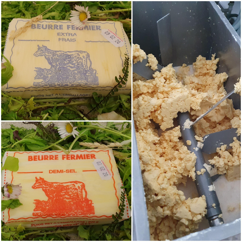 Beurre fermier de barate