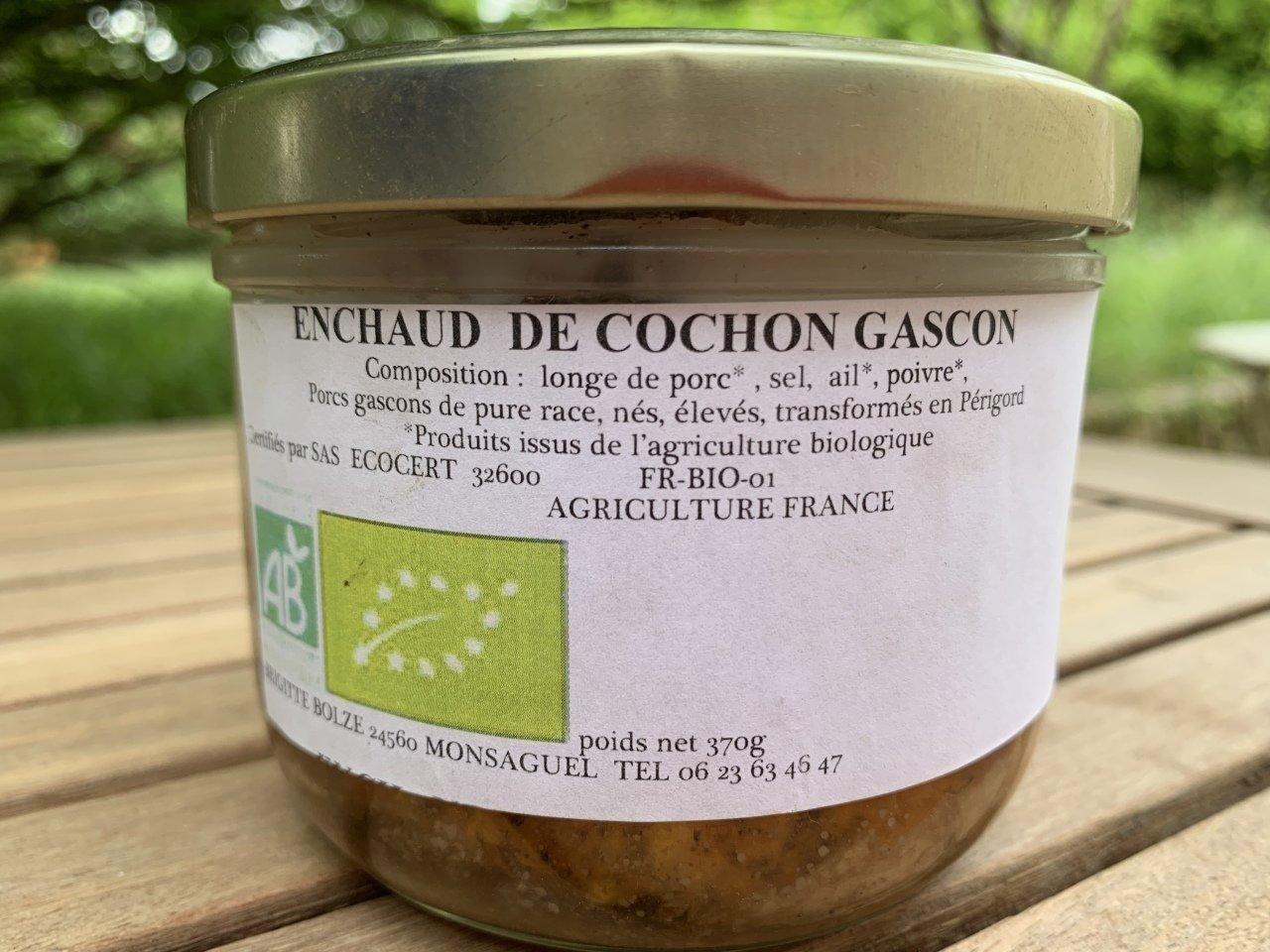 ENCHAUD DE PORC GASCON BIO
