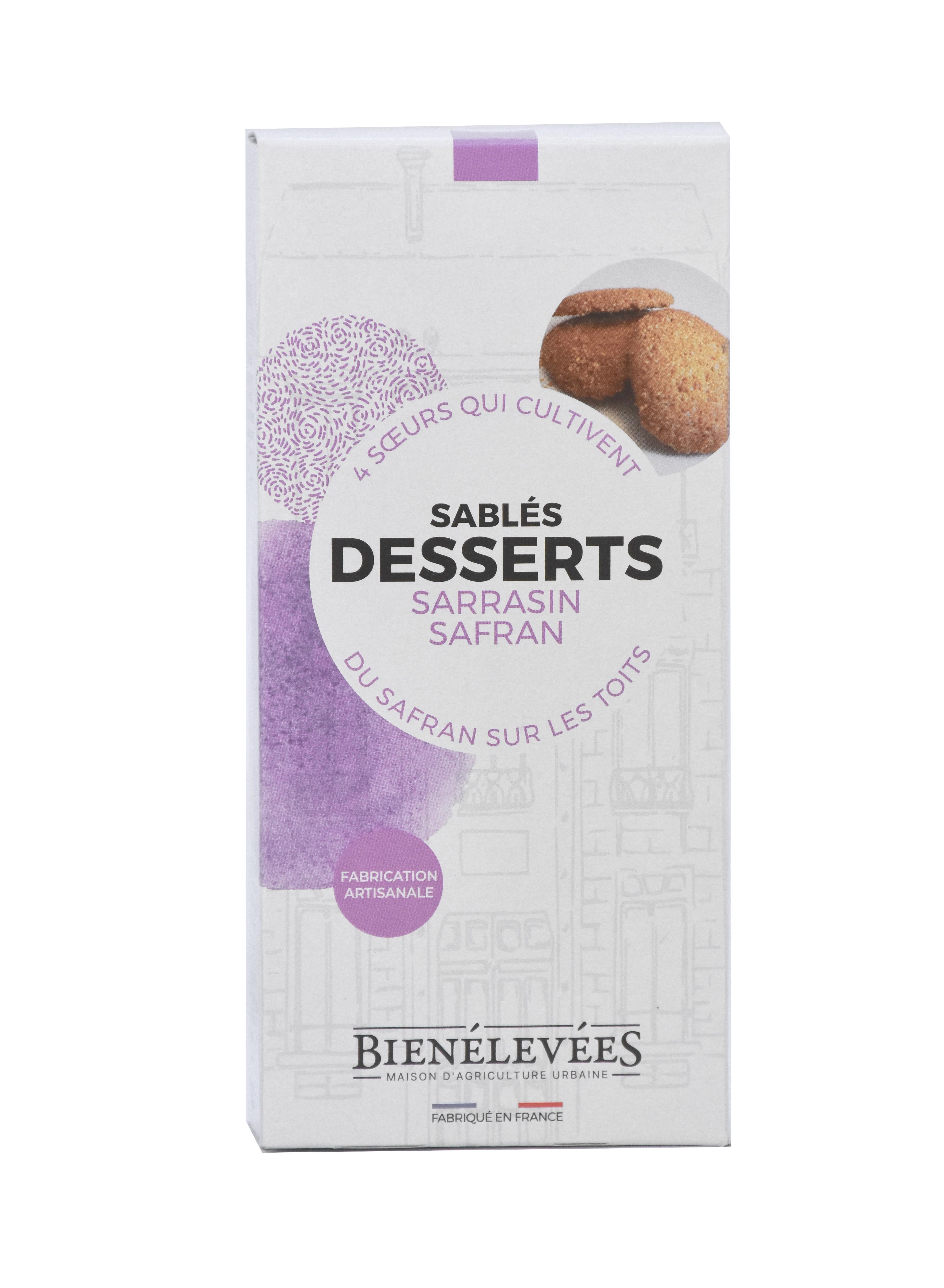 Sables dessert - Sarrasin Safran