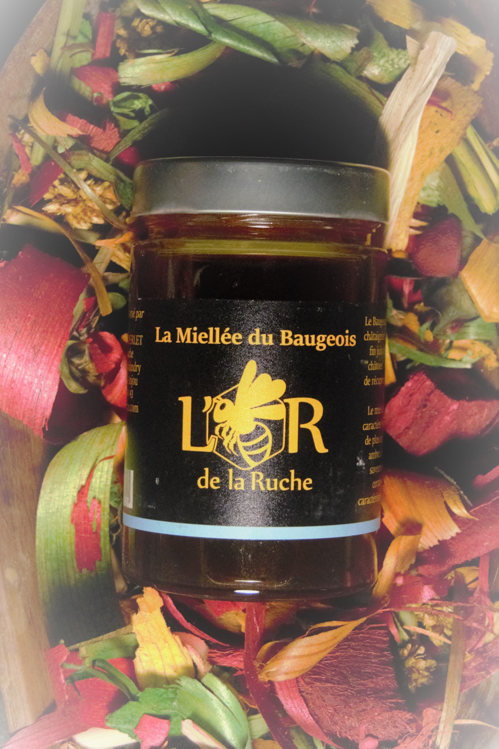 Miellée du Baugeois (miel de châtaignier)