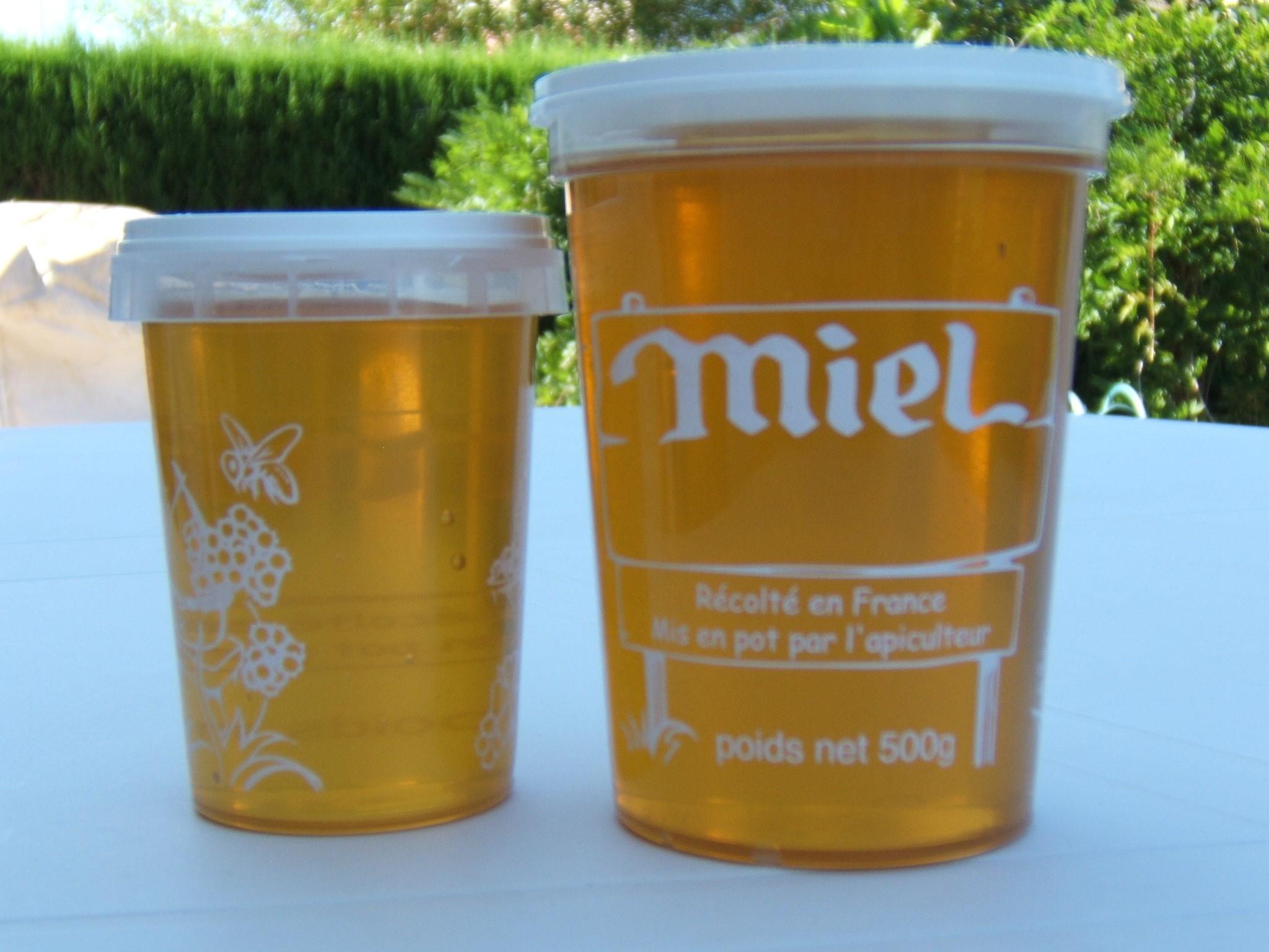 """Miel """"toutes fleurs"""" pot plastique"""