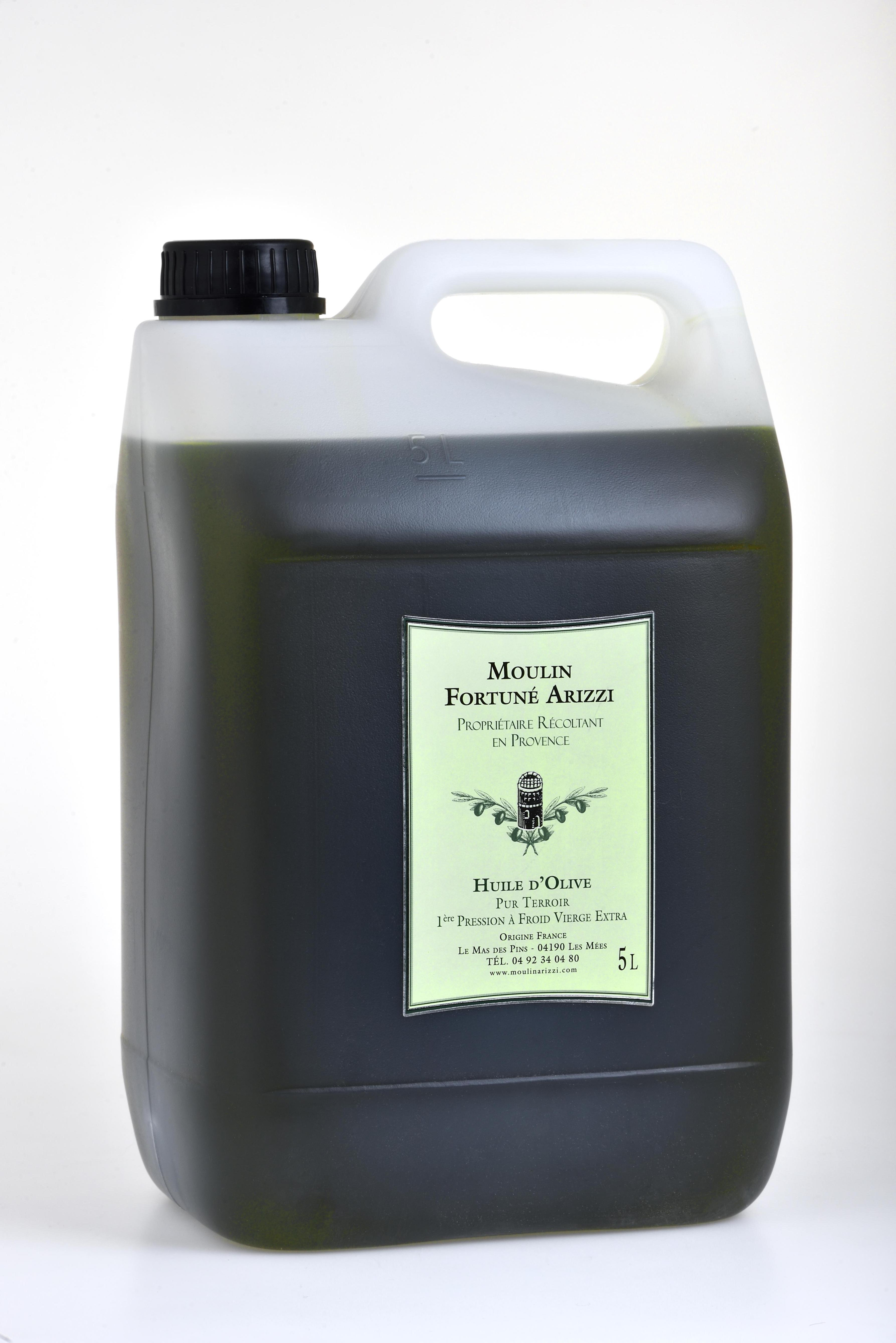 5 Litres - Huile D'Olive Vierge Extra