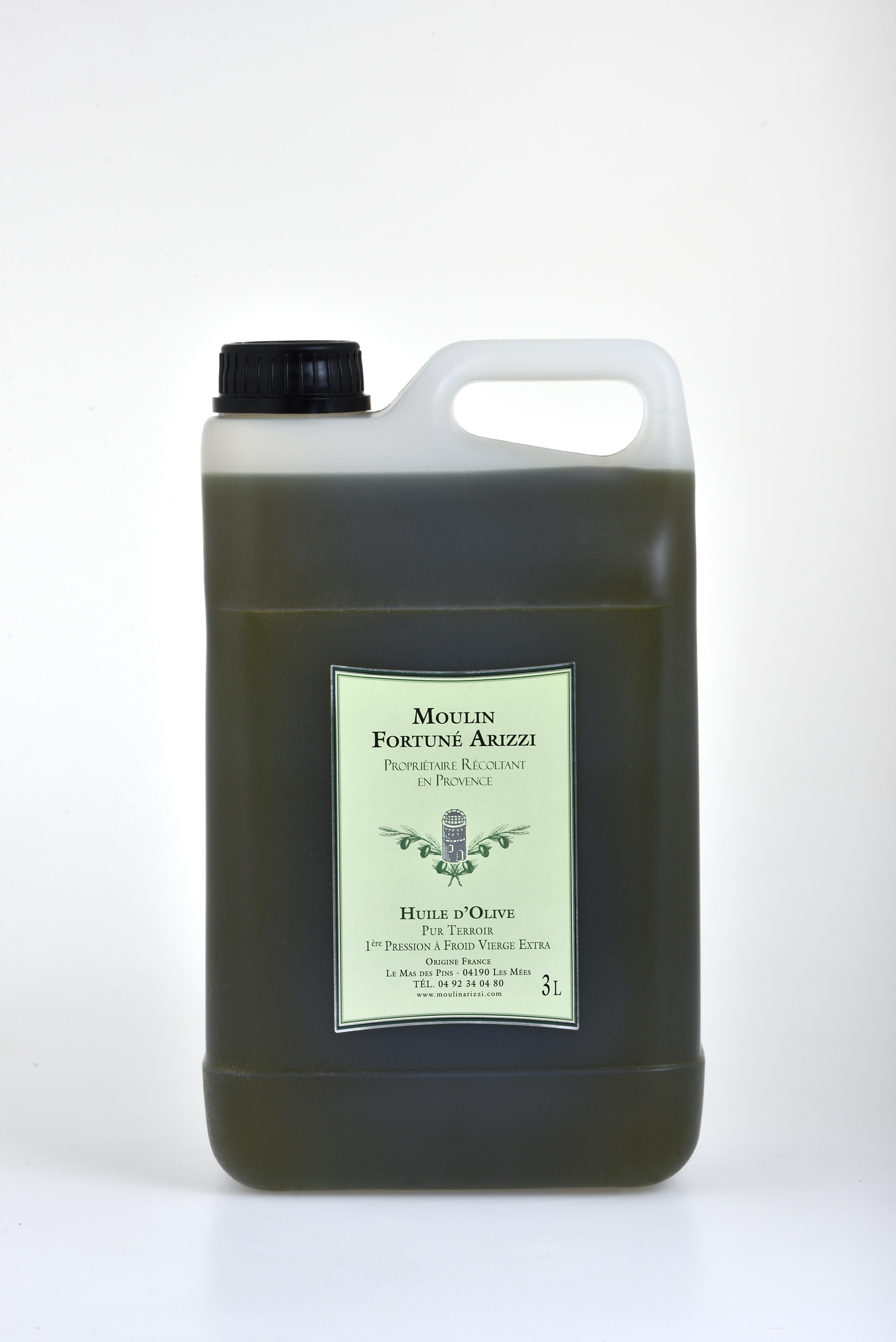 3 Litres - Huile D'Olive Vierge Extra