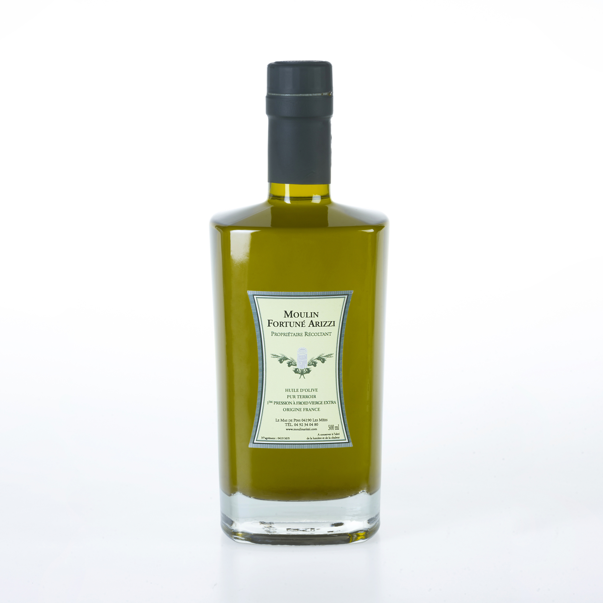 500 Ml - Huile D'Olive Vierge Extra
