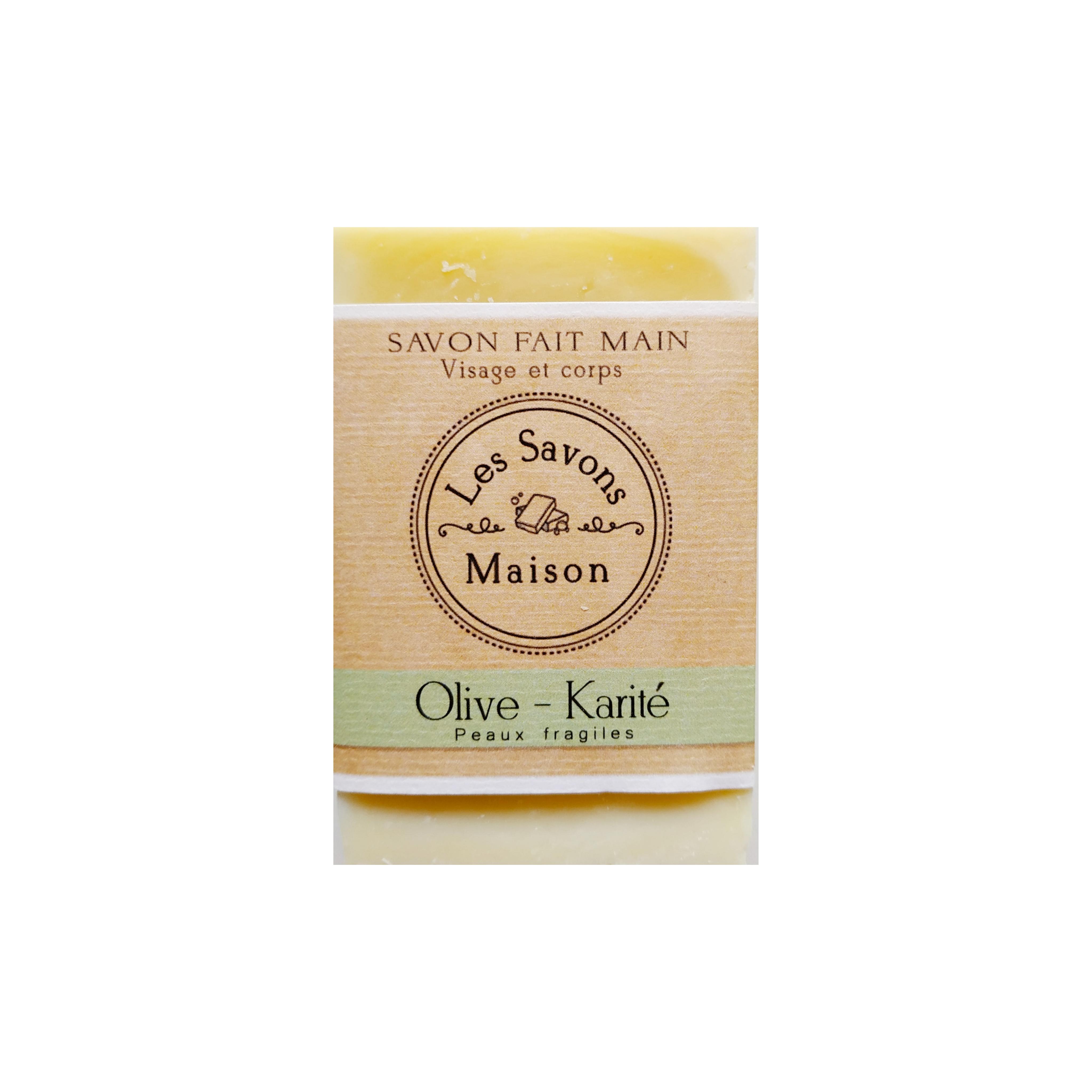 Savon Olive-karité 100g