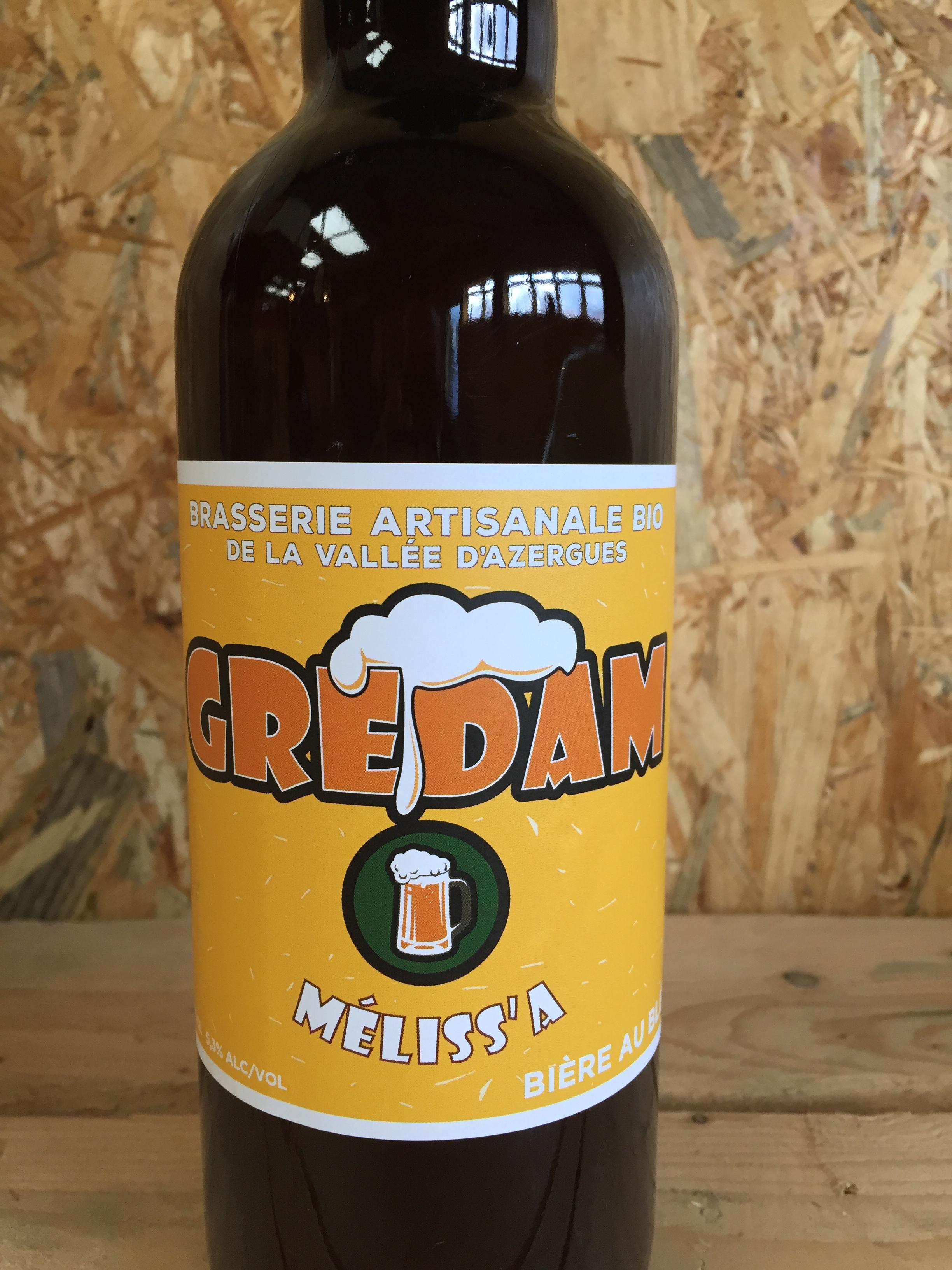 Mélissa Wheat beer 75cl -33cl