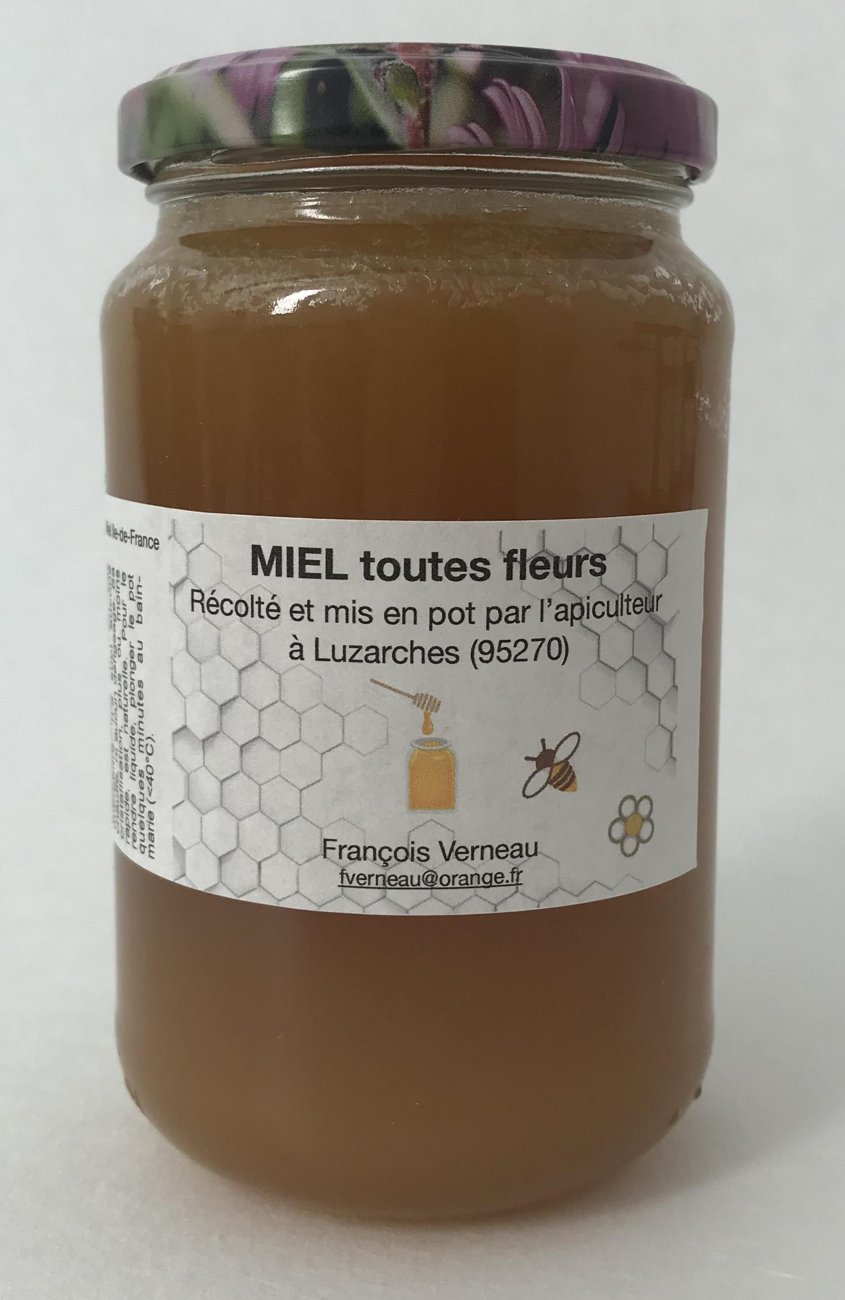 Miel d'été polyfloral (pot de 500g)