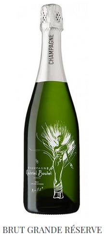 Champagne Brut Grande Réserve Miss Pat*