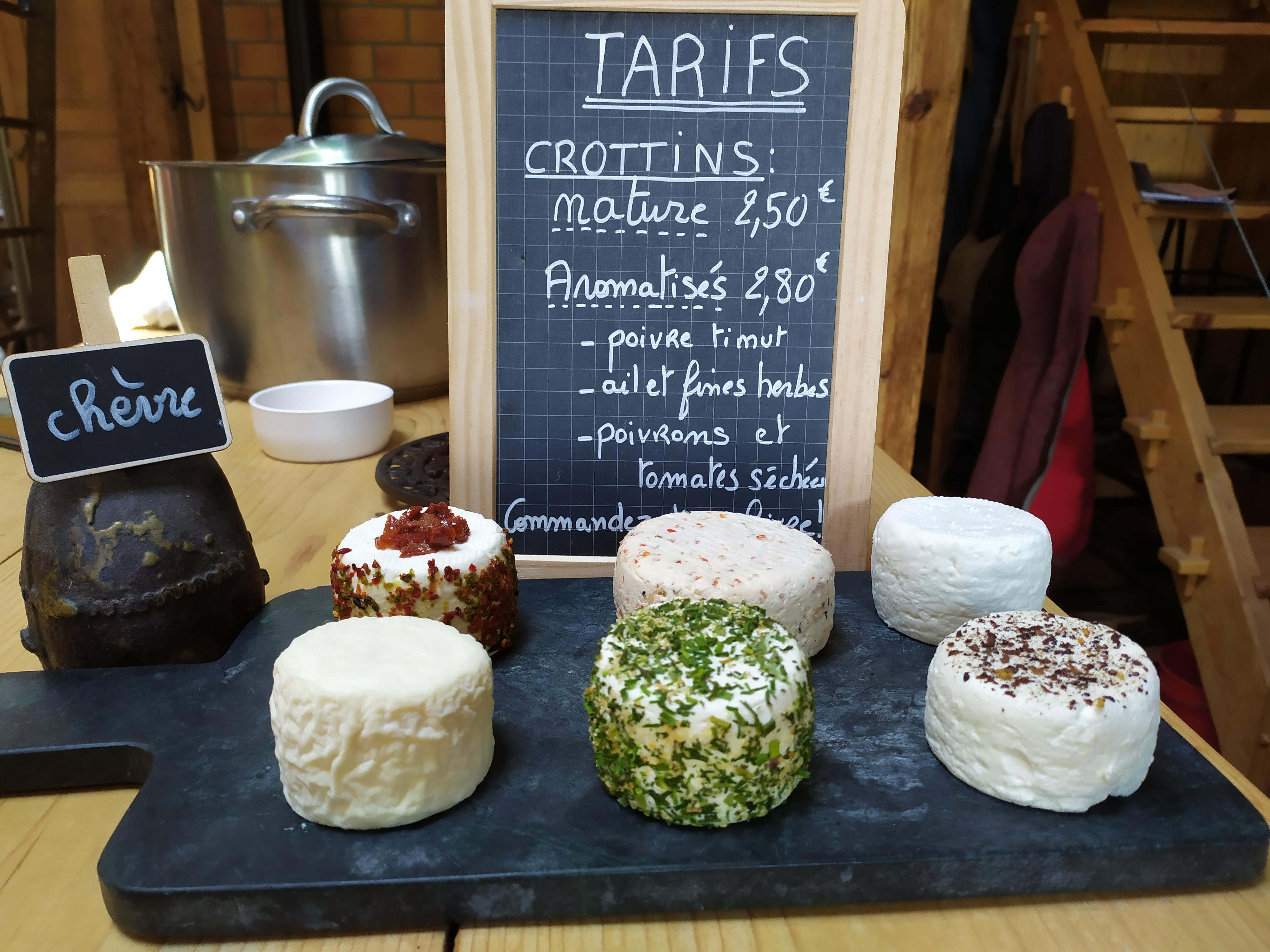Plateau de 6 fromages de chèvre