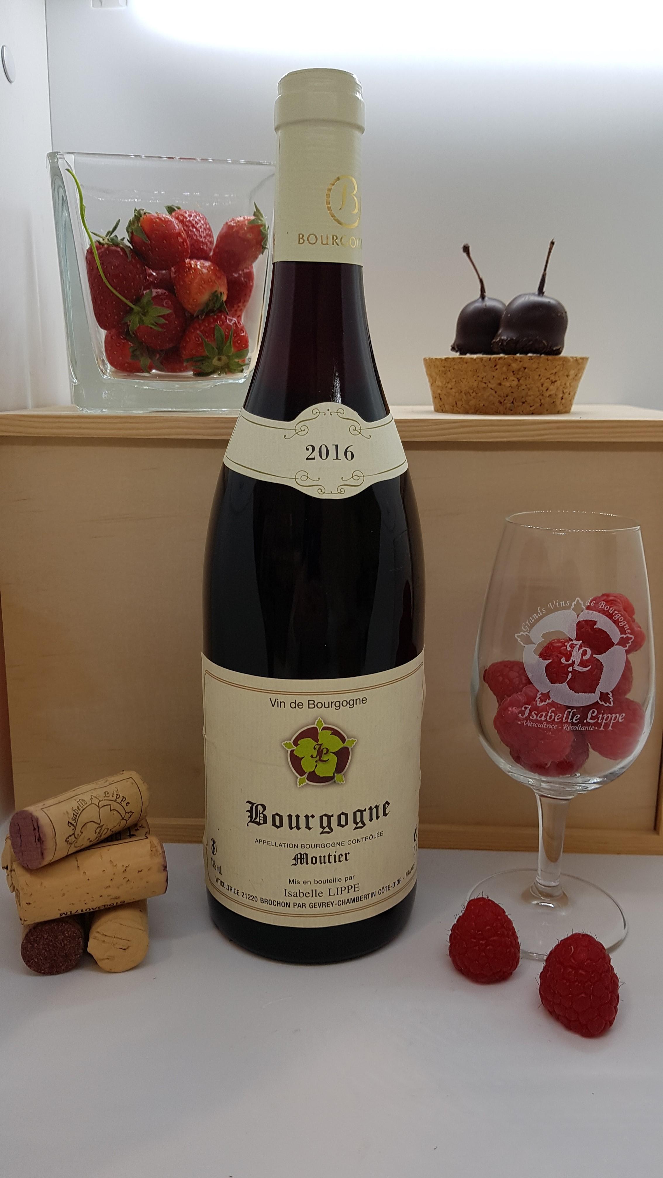 "Bourgogne Rouge ""Moutier"""