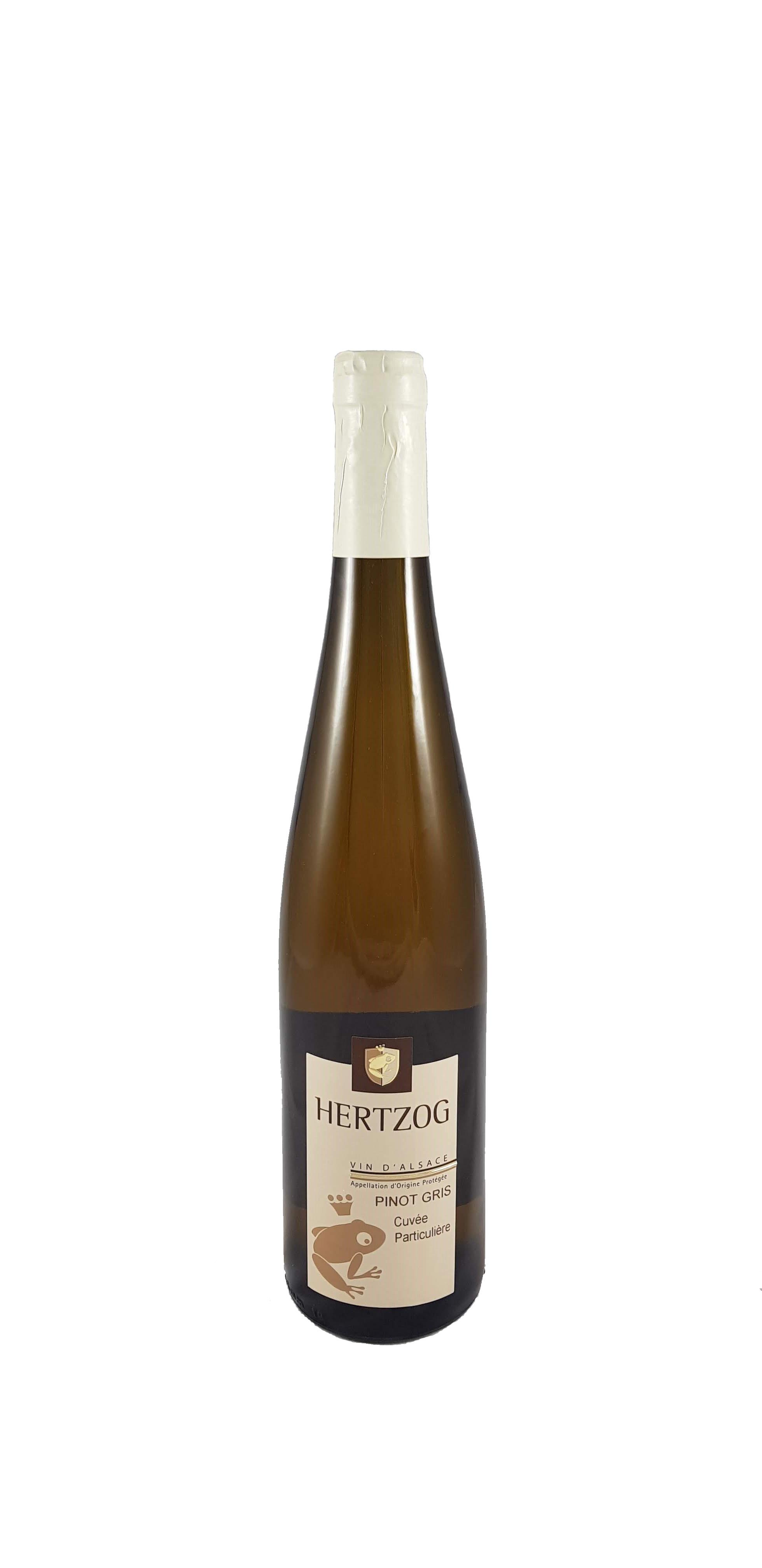 Pinot Gris Cuvée Particulière 2017