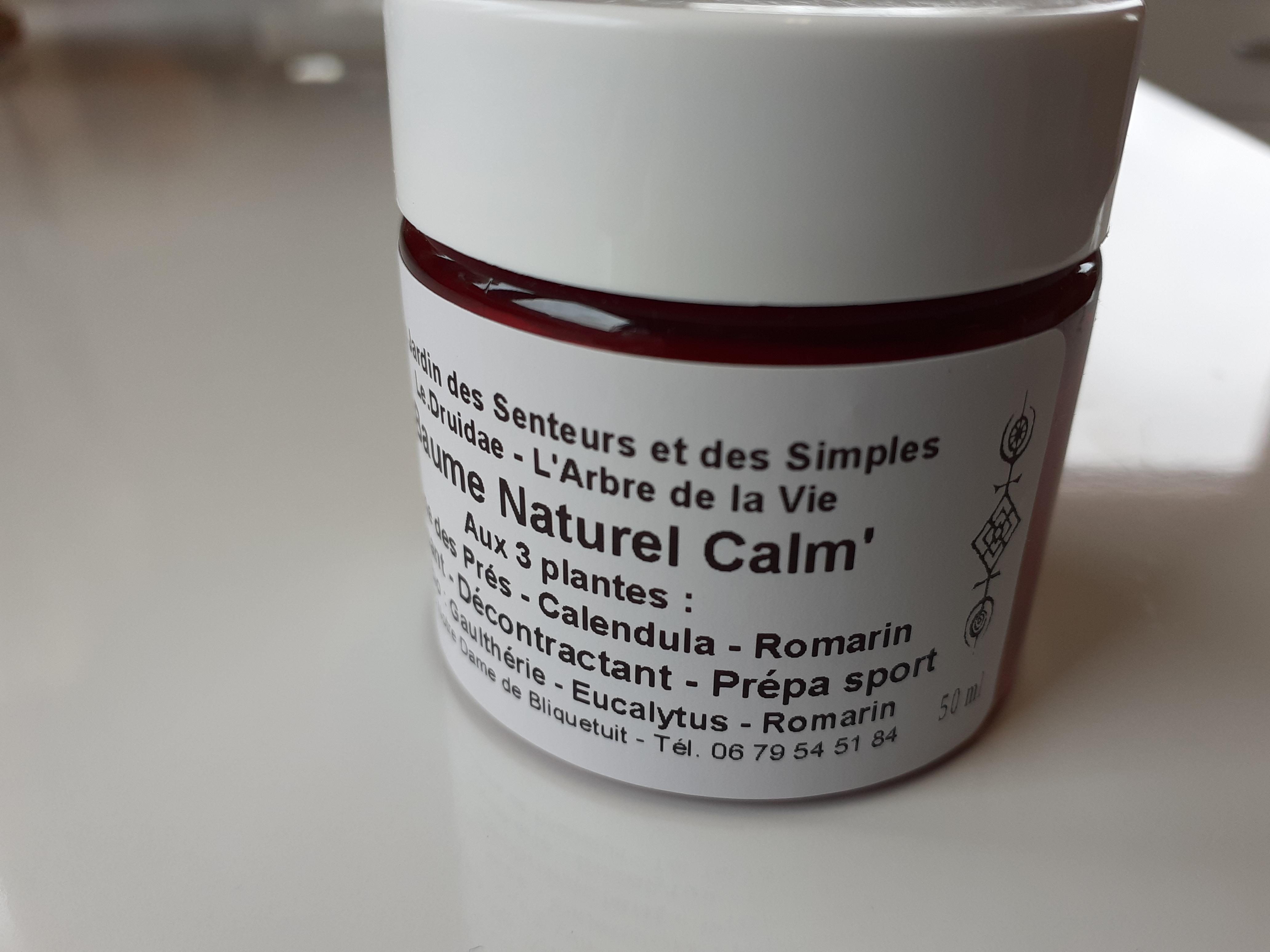 Baume Calm'