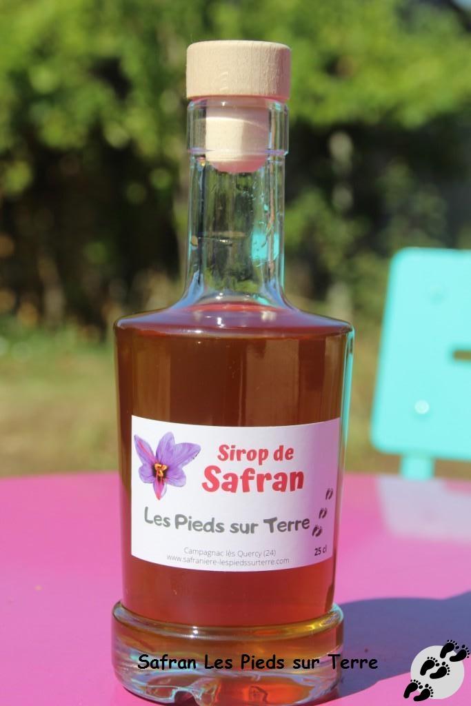 Sirop de Safran - 25 cl