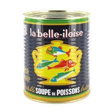 Soupe de poissons  belle-iloise