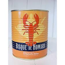 bisque de homard la belle-iloise