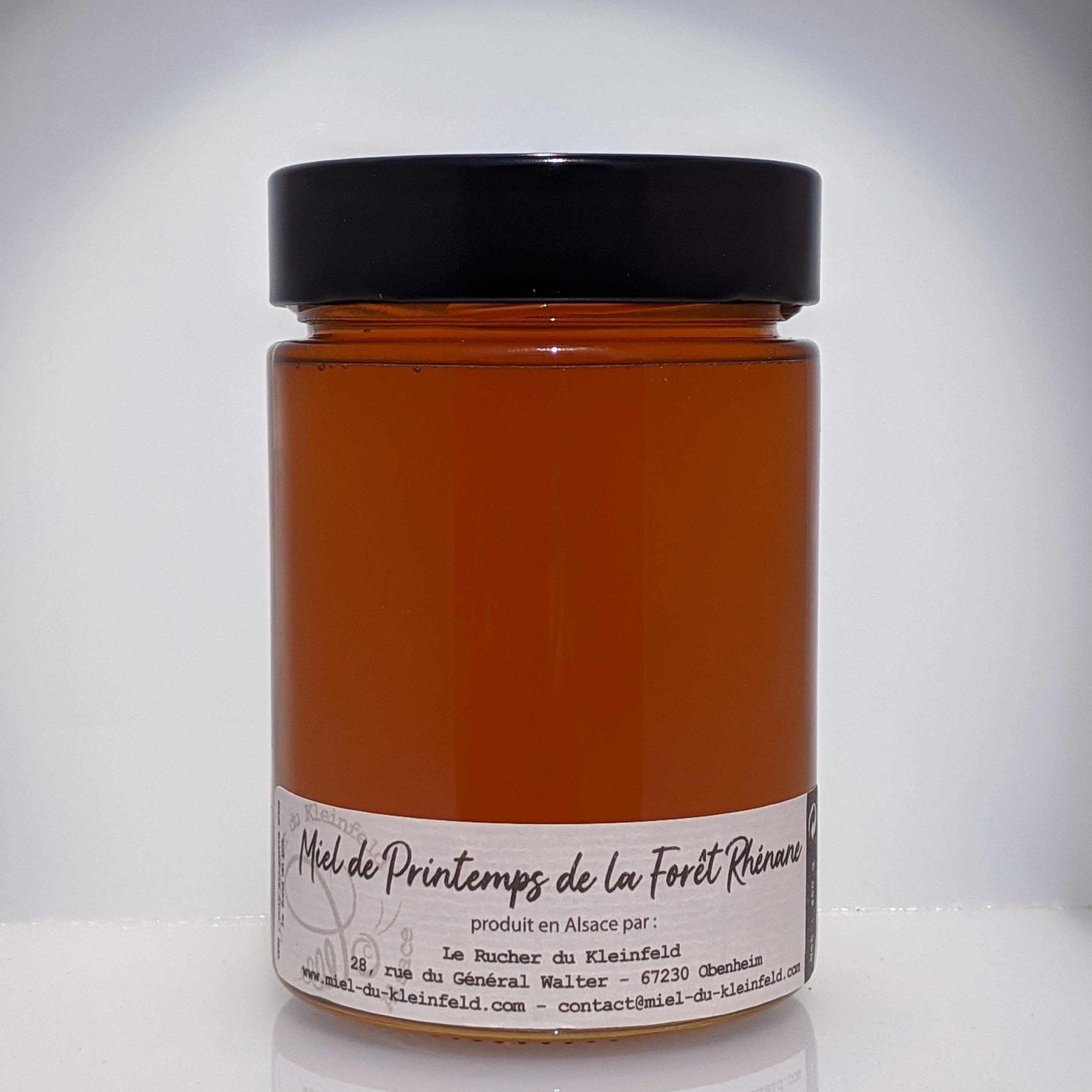 Miel de Printemps de la Forêt Rhénane 450 g