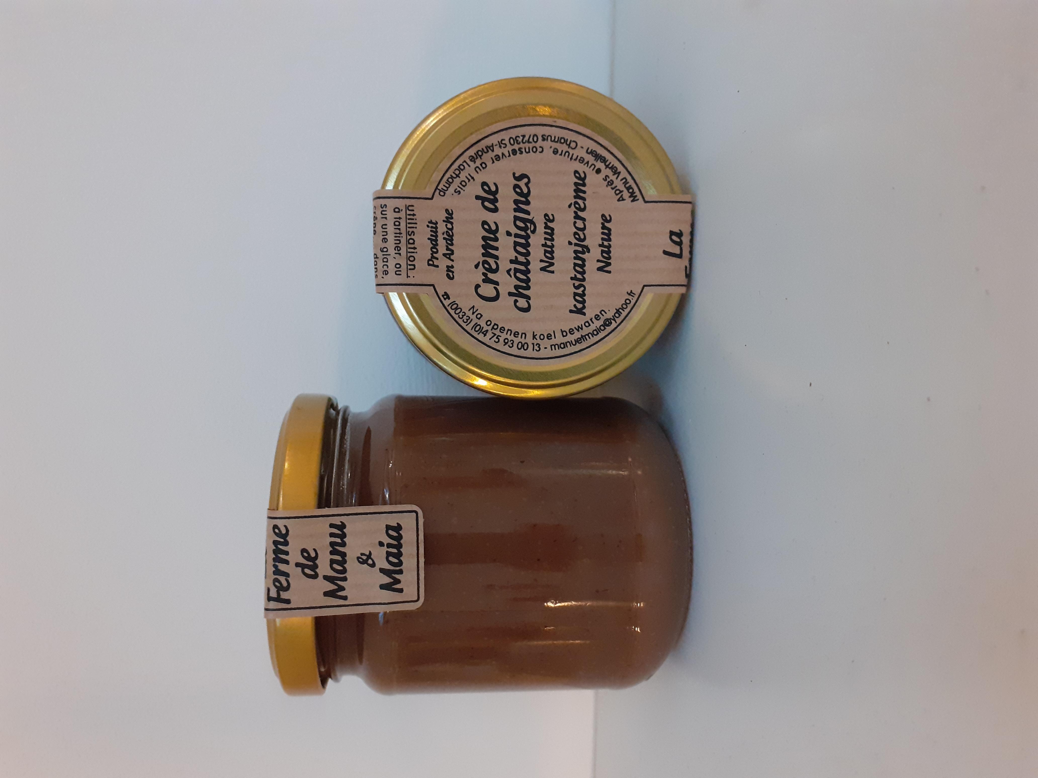 Crème de châtaignes BIO différentes sortes