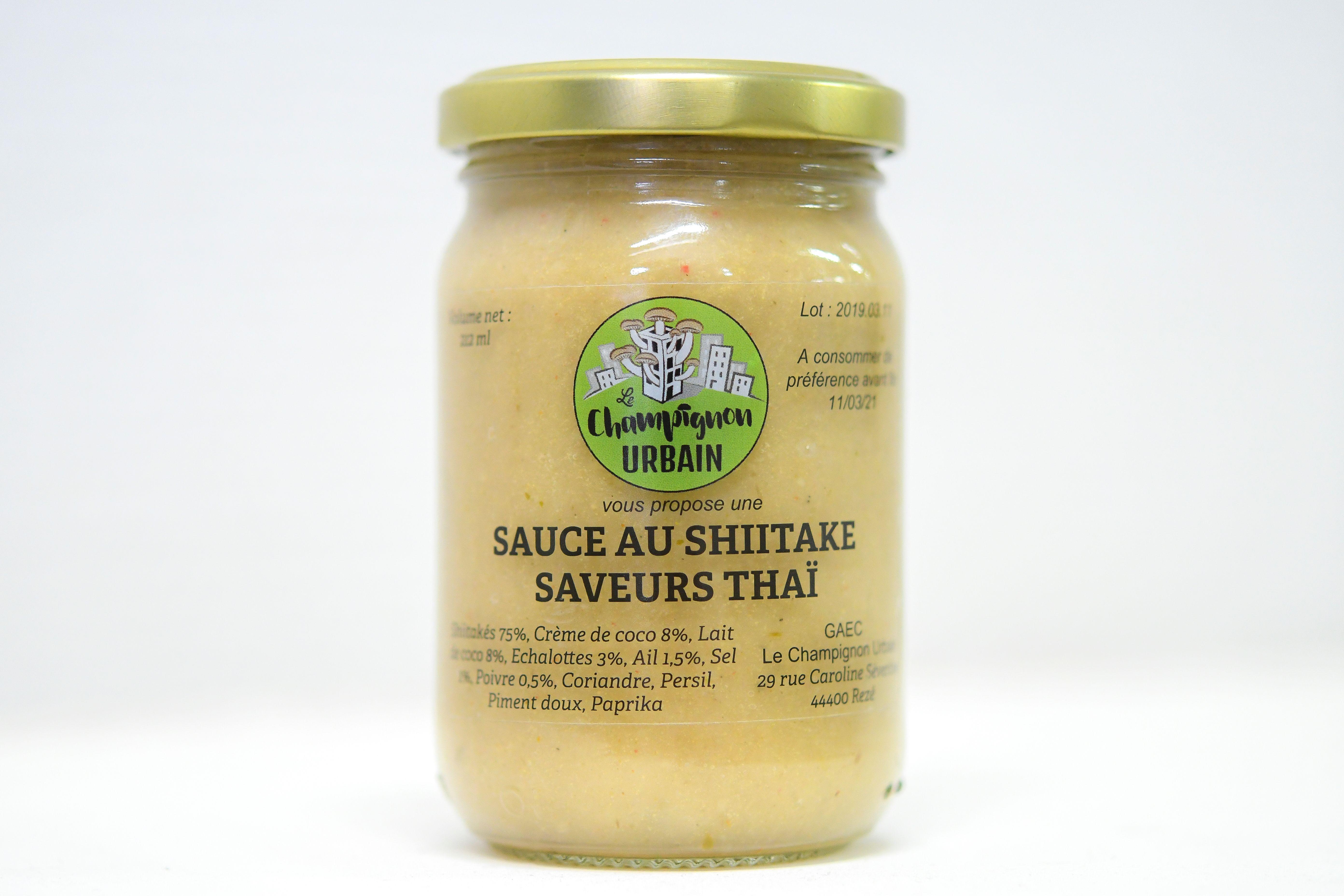 Sauce au shiitake saveur thai