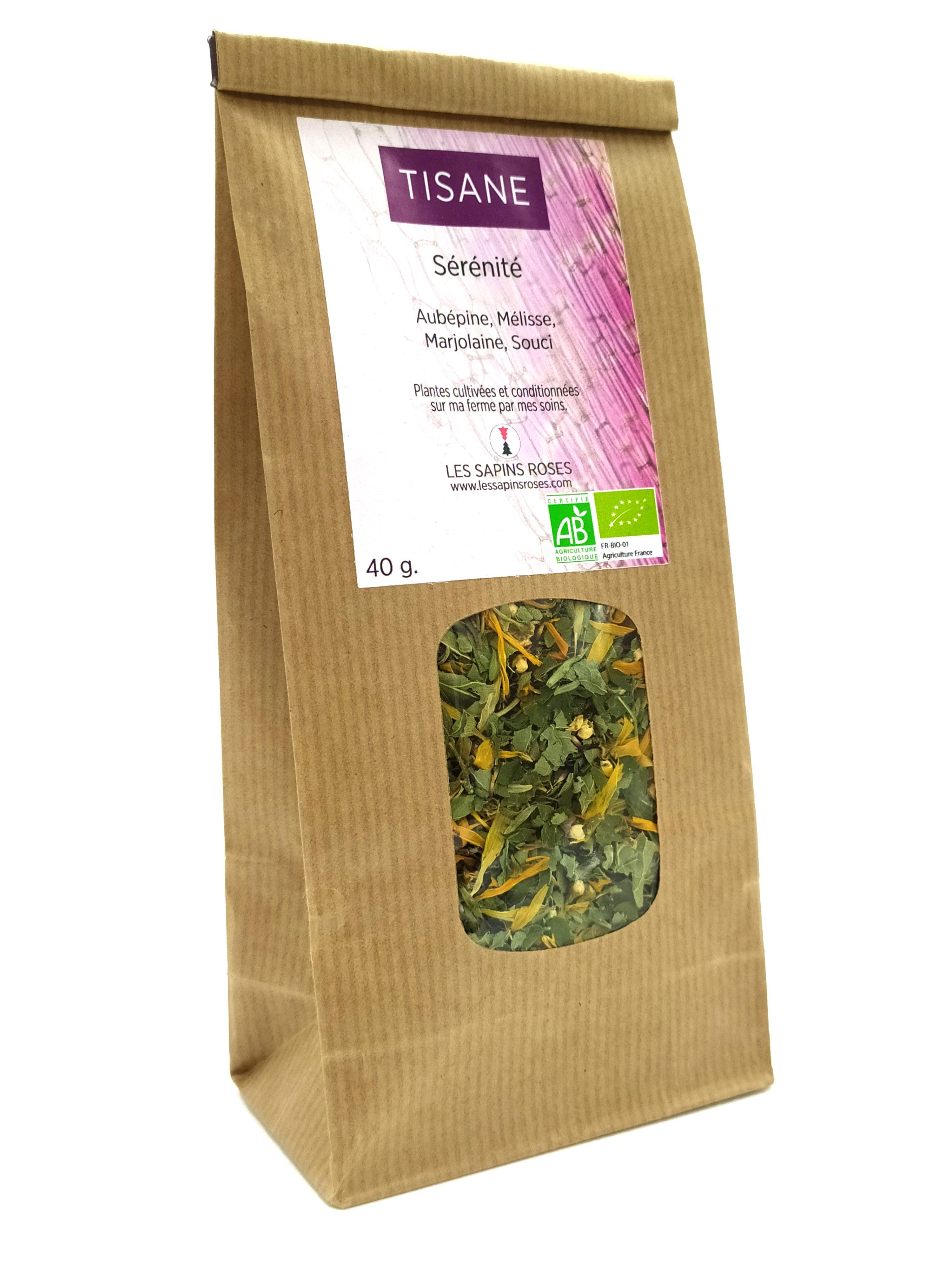 Tisane sérénité Les Sapins Roses