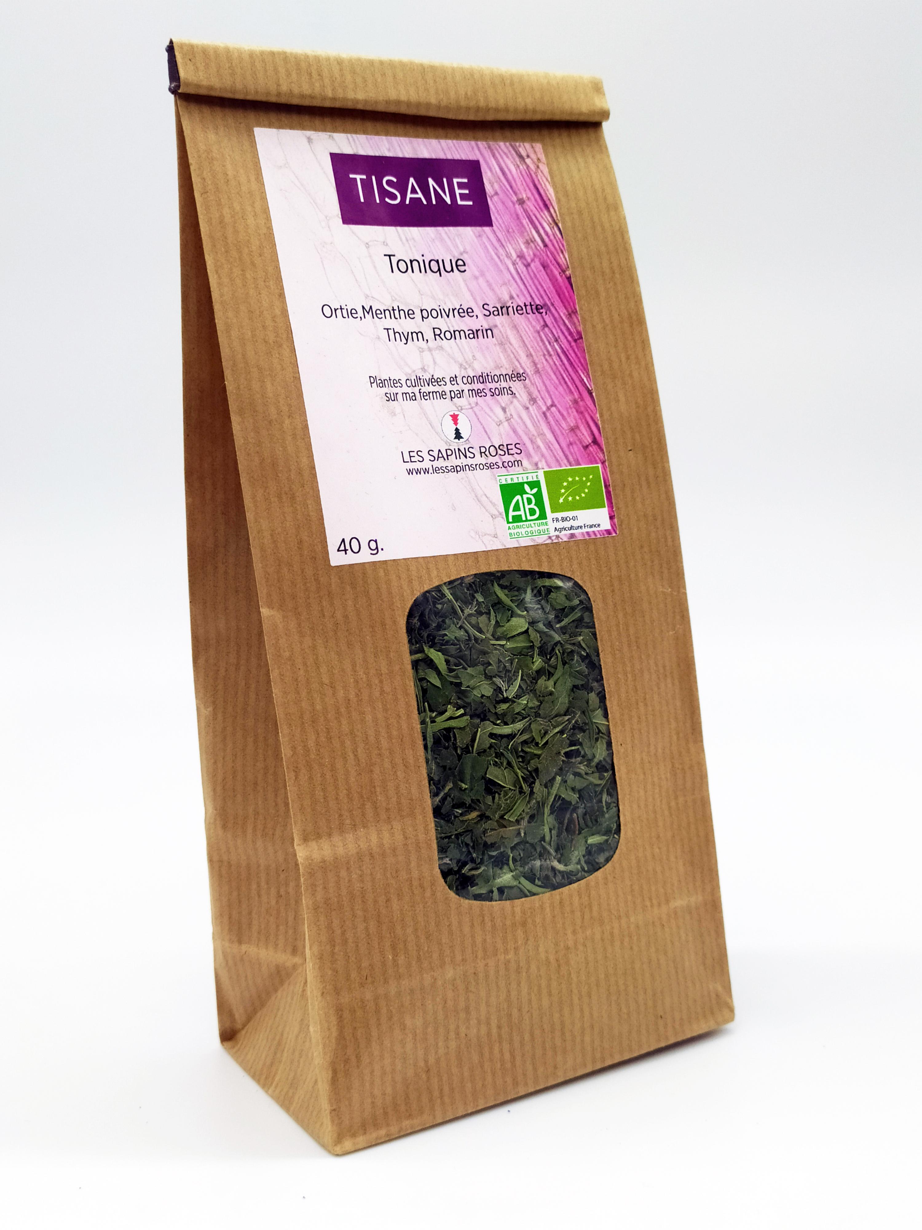 Tisane Tonique Les Sapins Roses