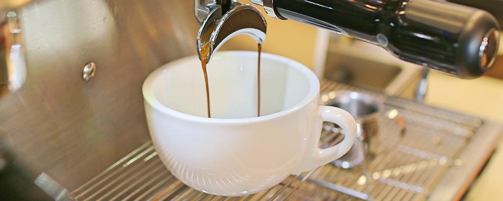 L'ardoise : 1 café offert