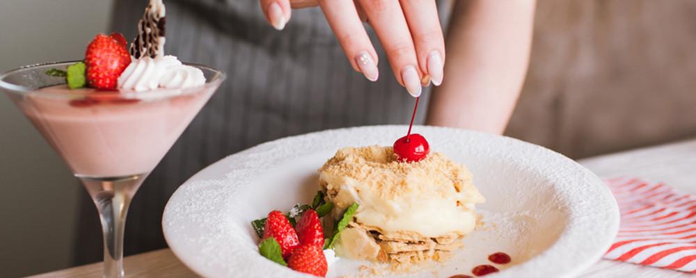 Chez Toi Restaurant: dessert ou fromage offert