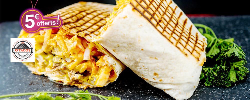 O'Tacos : 1 Tacos gratuit !