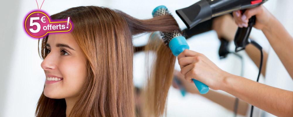 Essentiel coiffure : 5€ offert