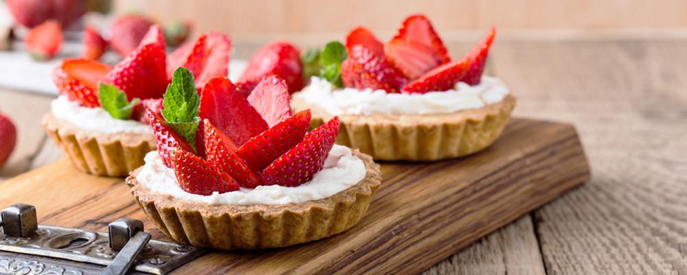 La Verrière : un dessert offert