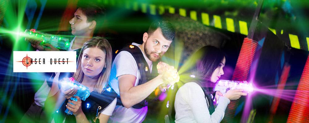 Laser Quest : 1 place offerte