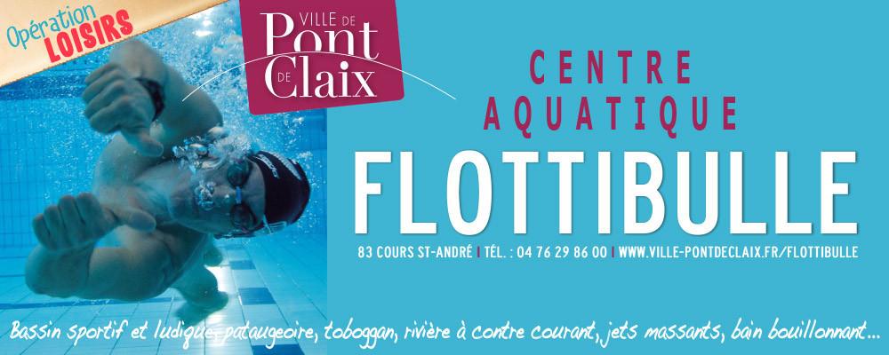 Centre aquatique Flottibulle : 1 place offerte