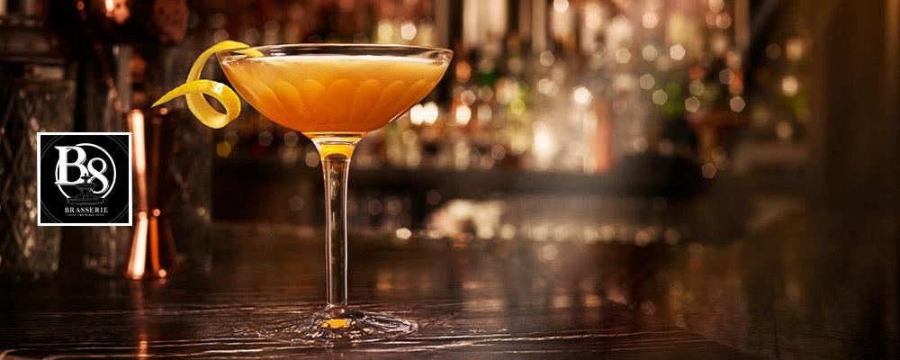 Brasserie B8 : 1 boisson offerte !