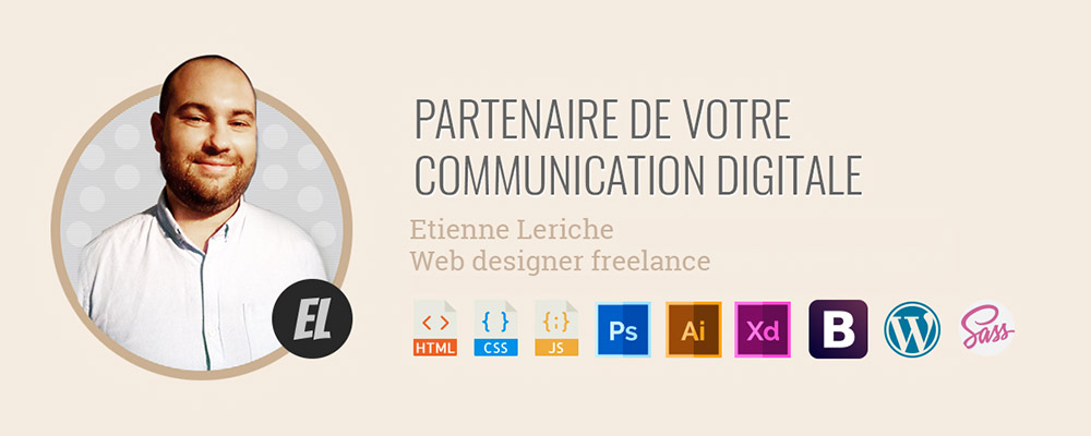 Etienne Leriche : - 10 % sur la création du site internet !