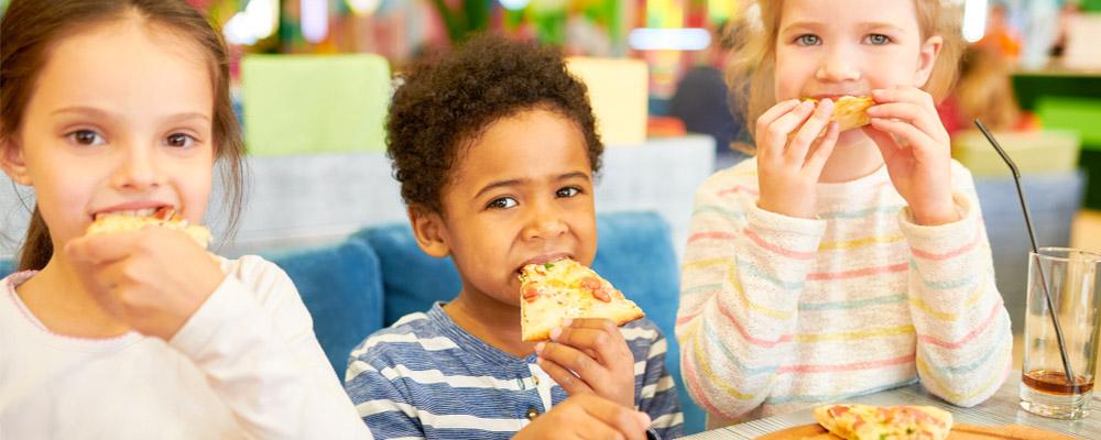 L'Hélix : Le menu enfant offert