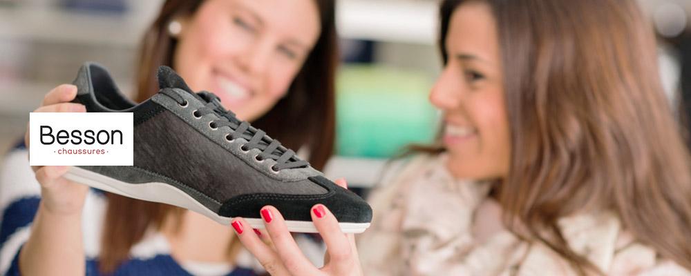 Besson Chaussures: 10€ de réduction*