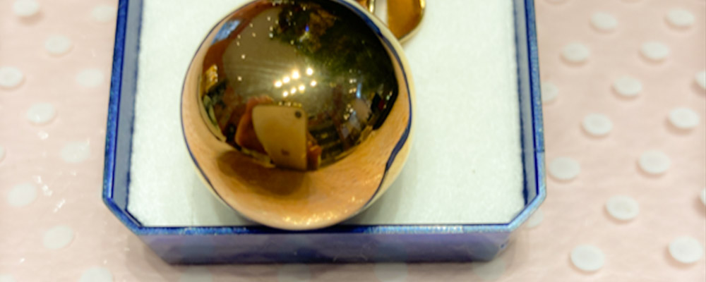 Le temps et l'or: 13 euros de remise sur le pendentif plaqué or